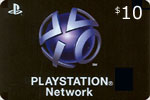 Playstation $10 Network Card