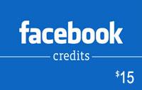 $15 Facebook Credits