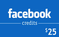 $25 Facebook Credits
