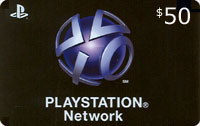 Playstation Network Card