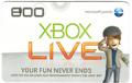 XBOX Live Points
