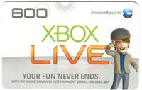 Microsoft 800 Points